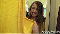 Teen girl Taylor Sands screwed in fitting room ...
