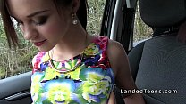 Screenshot French redhe ad teen banged in public