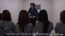 Female Asian prisoners getting anally examined Preview