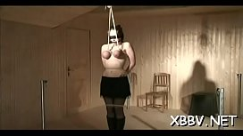 Perverted fetish play leads to naughty tit punishment xxx moments