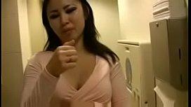 Asian girl giving jerk off instructions
