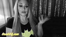 Samantha38g batLady cosplay livecam show part 1
