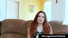 Wall Street Intern Veronica Vain Gets 2 Dicks By Alex Legend