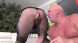 chubby 68 years old grandma first time big cock fucked