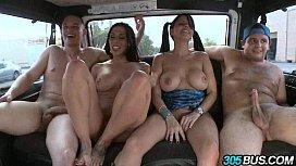 Rachel Starr and Diamond Kitty Ride the Bus 3.5