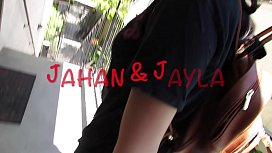 jahan shoot cum all over jayla face