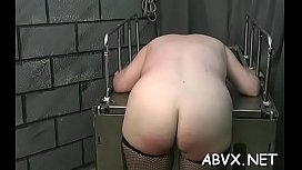 Naughty amateur video with angel enduring pussy stimulation