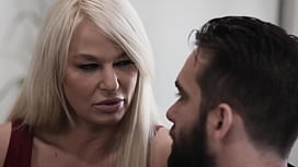Busty Mature London River Dominating An Escort Guy
