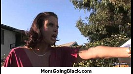 Horny hot Mom getting fucked by black monster 30