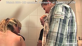 Old German matures enjoy bathtub licking and fucking