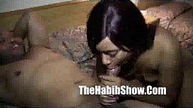 black girl sex : Mixed hairy rican freak cant fuck redzilla monster cock
