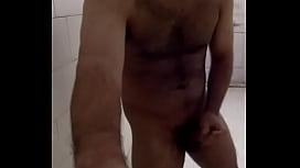 Horny Indian Guy cumming in his bathroom _) Indian Guy Pornstar (Hotcummerforu)