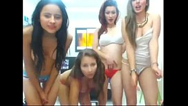 4 friends toying on cam -  www.MyFapTime.com