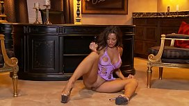 Candice Cardinelle - Lubed and Plugged