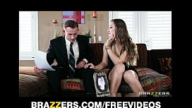 Young wife Dani Daniels fucks her husband'_s business partner