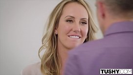 TUSHY Brett Rossi's FIRST EXCLUSIVE Anal!