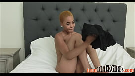 Cute Black Tiny Teen With A Great Ass Arie Faye Casting Fuck