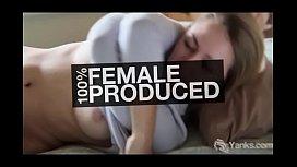 Yanks Brunette Jackie Ashe Cums