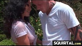 SHE SQUIRTS NICE PUSSY JUICE 5