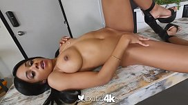 Exotic4k Ebony Anya Ivy interracial fuck with big white torpedo dick
