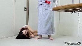 Live bdsm doll Training my tiny teen arse whore