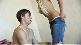 Young blonde Teen lost Virginity