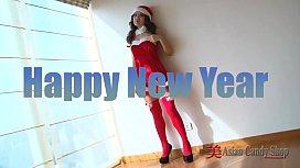Merry XXXmas Asian Girl Solo'_s - www.porncitycams.com