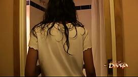 Indian Pornstar Babe Divya Seducing Her Fans With Her Sex In Shower