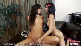 Sexy Rosemary Radeva and Tanner Mayers in threesome