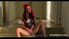 Teenie tiny girl fucked silly Vanessa Sixxx