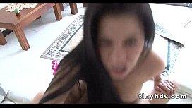 Sweet latina teen Sara Romero
