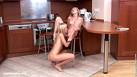 Lovely Lappers by Sapphic Erotica - lesbian love porn with Janet - Karin