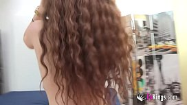 18yo tight redhead pale skinned teen is crazy for doing blowjobs any time to her boyfriend
