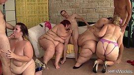 Fat and horny BBWs Amazon Darjeeling, Apple Bomb, Lady Lynn and Sweet Cheeks har blackdemonstories