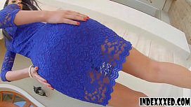 Gorgeous girl enjoys both holes getting drilled