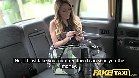 Fake Taxi hard sex and rimming before facial cumshot for Welsh girl