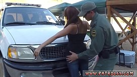 Horny anal and fake taxi delight Brunette gets pulled over for a