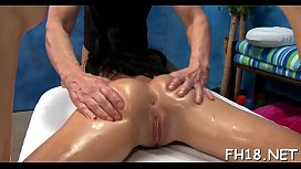 Undressed massage video porn vid