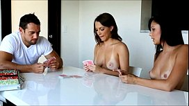 Passion-HD Strip poker makes 2 girls horned up to fuck