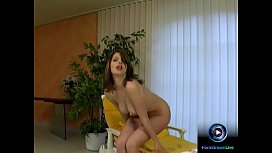 Take a look of Katalin delicious tits and wet slit