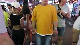 Asia Sex Tourist Picks Up Thai Hookers!