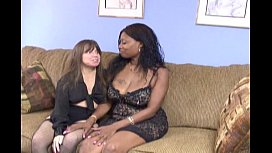 my wife and ebony po ar