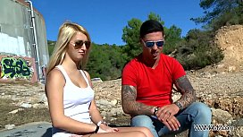 Myfi ublic Two hot chicks play nau game with young muscle stranger public