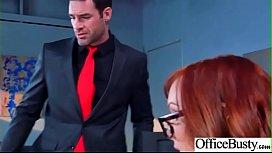 Office Sex With Sluty Big Juggs Teen Girl (Dani Jensen) vid-10