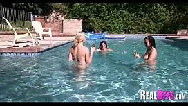 Pool party college orgy
