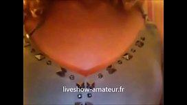 Blond teen webcam show