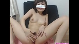 Sexy Japanese girl rubs her pussy til orgasm, livehotcamgirls69.com