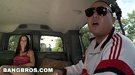 BANGBROS - Fresh Off The BangBus with Jada Stevens and Eddie Huang