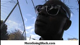 Mom go black - Interracial hardcore sex 9