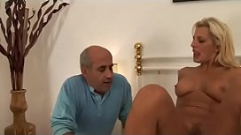 Wonderful blonde milf riding a cock! nia nacci anal